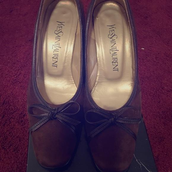 Authentic yves saint laurent shoes